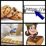 4 bilder 1 wort cookie