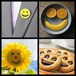 4 bilder 1 wort smiley